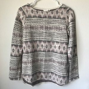 H&M Geometric Print Sweater